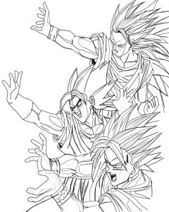 coloriages-dragon-ball-z-1 free to print
