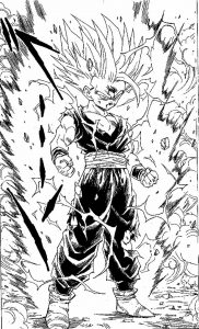 Coloriages dragon ball z 2