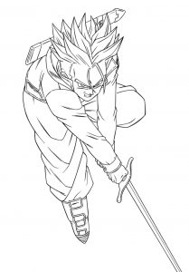 coloriages-dragon-ball-z-3 free to print