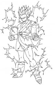 coloriages dragon ball z 4
