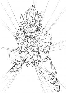 Coloriages dragon ball z 5