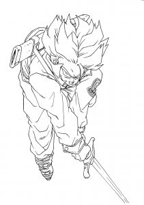 coloriages-dragon-ball-z-7 free to print
