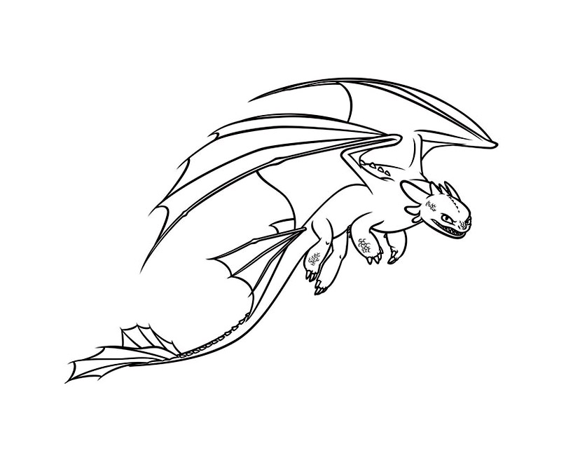 Dragons Dreamworks 11 Coloriage Dragons Coloriages