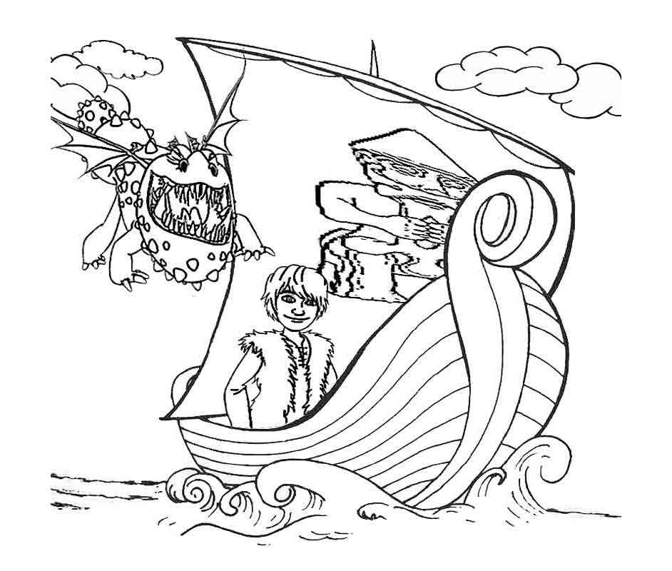 Dragons dreamworks 15 coloriage dragons coloriages - Coloriages de dragons ...