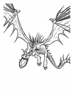 Coloriage dragons dreamworks 10