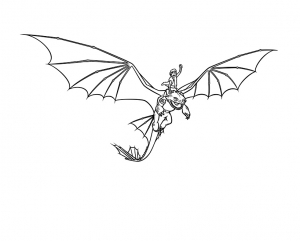 coloriage-dragons-dreamworks-13 free to print