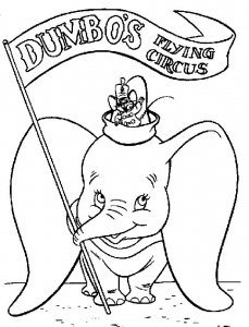 coloriage-dumbo-3 free to print