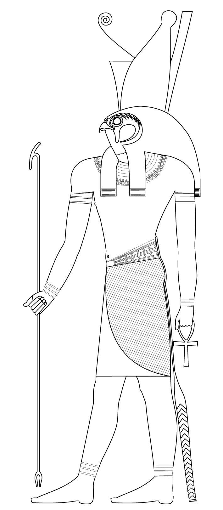 Horus : Dieu Egyptien