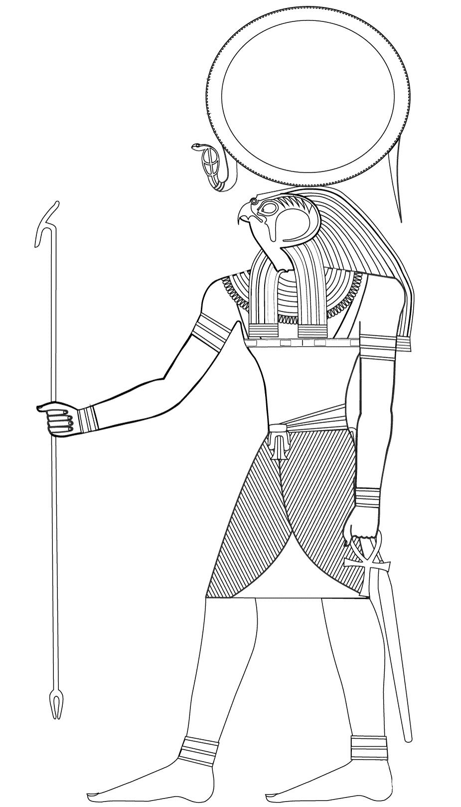 Ra, Dieu égyptien du soleil