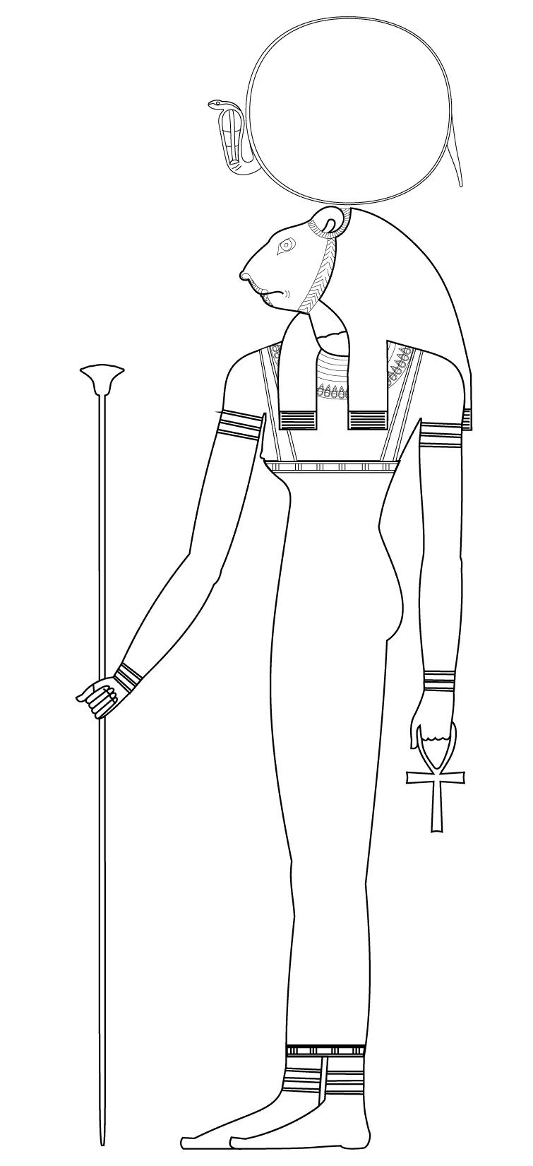 Sekhmet : Dieu Egyptien