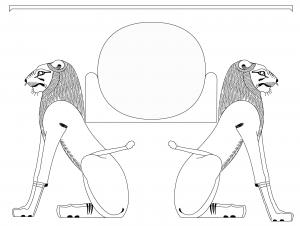 Aker ancient egyptian god