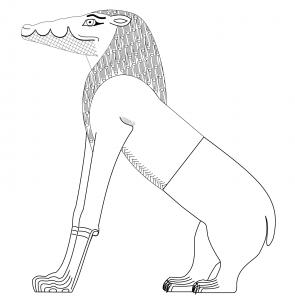 Ammit ancient egyptian god