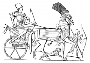 Chariot Egyptien