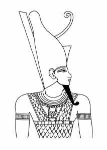 coloriage egypte 5