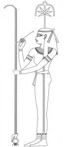 Seshat goddess of writing and wisdom