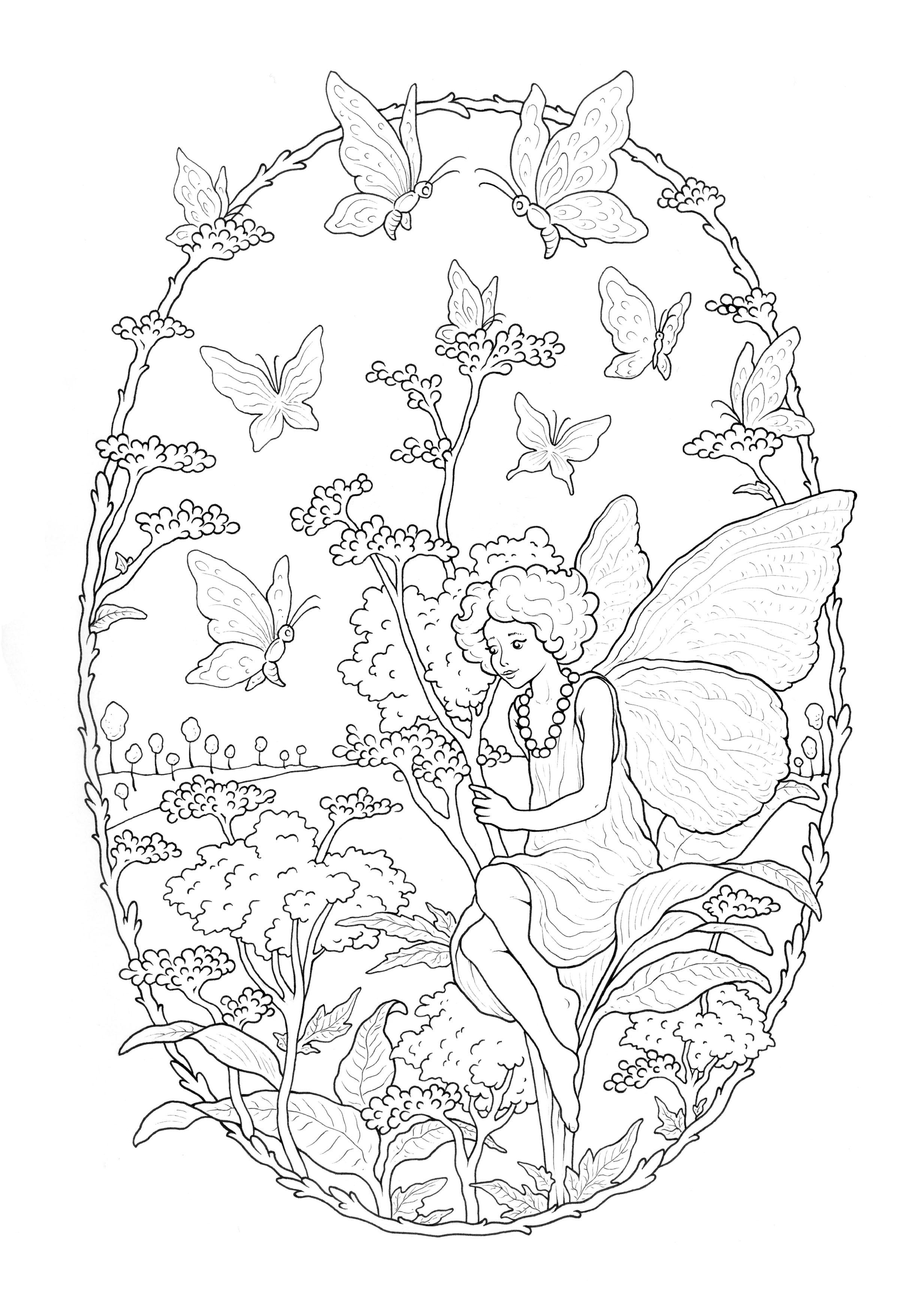 Fée aux papillons, par Konstantinos Liaramantzas