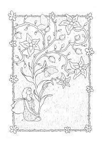 Image de Fées à imprimer et colorier