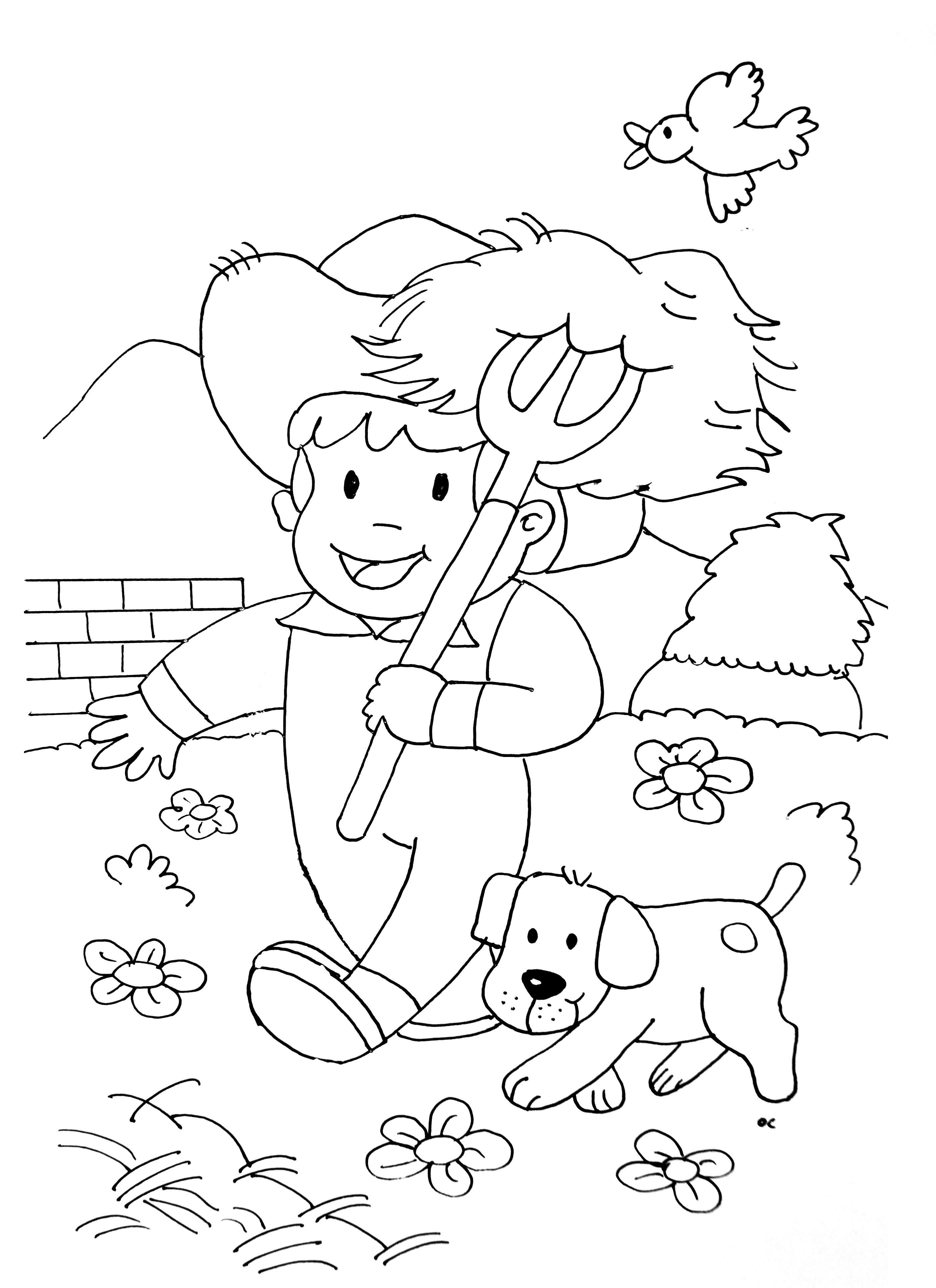 A imprimer chats 12 coloriage sur la ferme tracteurs - Imprimer dessin enfant ...