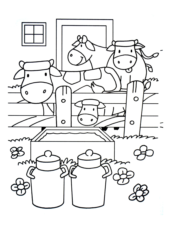 A imprimer chats 5 coloriage sur la ferme tracteurs - Site de coloriage gratuit ...