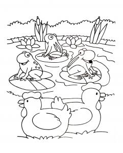 Dessin de Ferme gratuit à télécharger et colorier