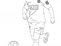 Coloriage de Football à colorier pour enfants