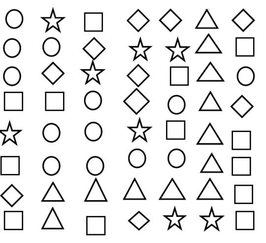 Coloriage de formes coloriages de formes coloriages for Dessin en forme geometrique