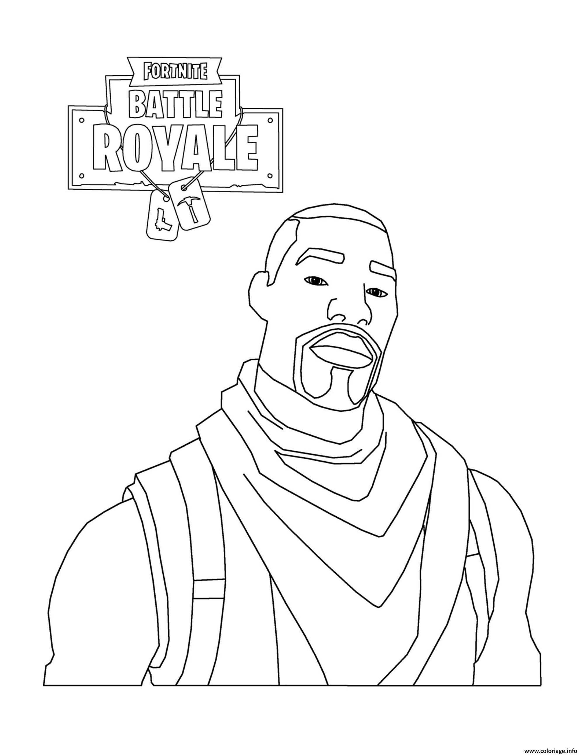 Fortnite Battle Royale Skin Gratuite Coloriage Fortnite Battle
