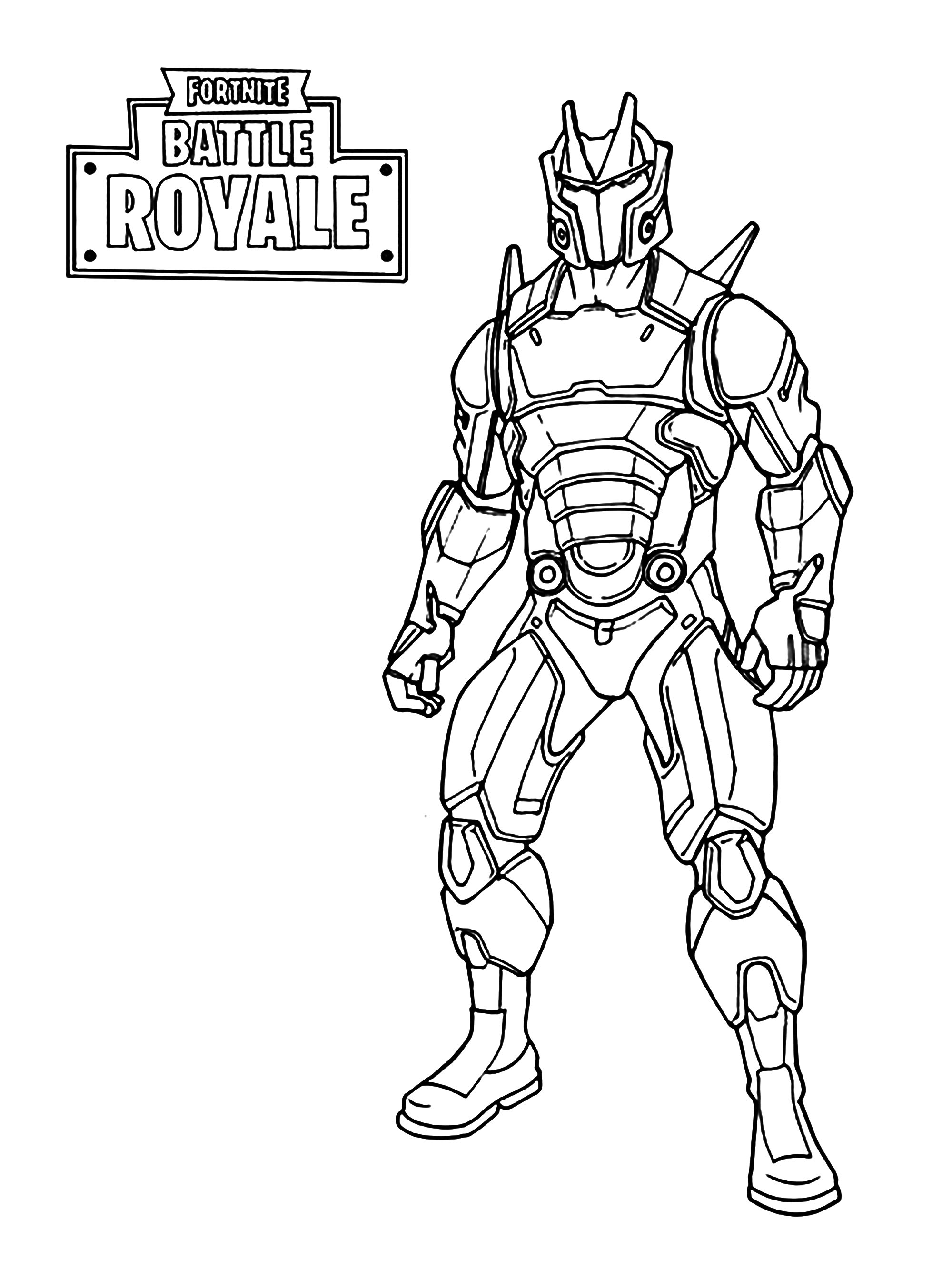 Fortnite Battle Royale Omega Coloriage Fortnite Battle