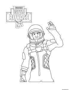 Coloriage Fortnite Battle Royale Coloriages Pour Enfants