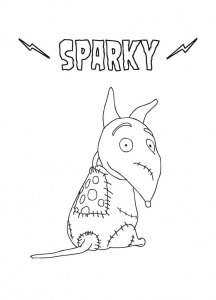 Coloriage frankenweenie 12