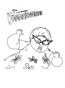 Coloriage frankenweenie 14