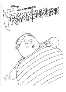 Coloriage frankenweenie 2