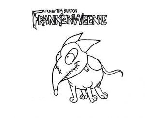 Coloriage frankenweenie 9