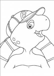 coloriage-franklin-3 free to print