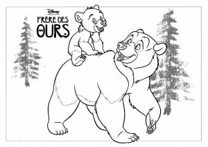 coloriage-frere-des-ours-1 free to print