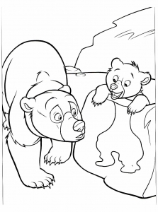 coloriage-frere-des-ours-2 free to print