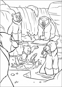 coloriage-frere-des-ours-7 free to print