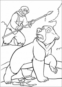 coloriage-frere-des-ours-9 free to print