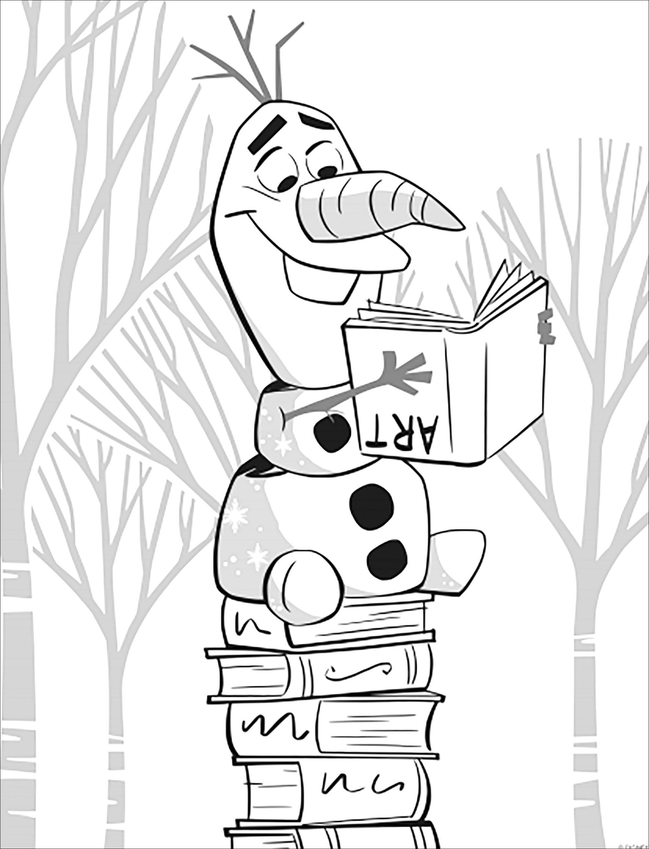 Et revoici ce cher Olaf, toujours aussi drôle dans La reine des neiges 2 de Disney (version sans texte)