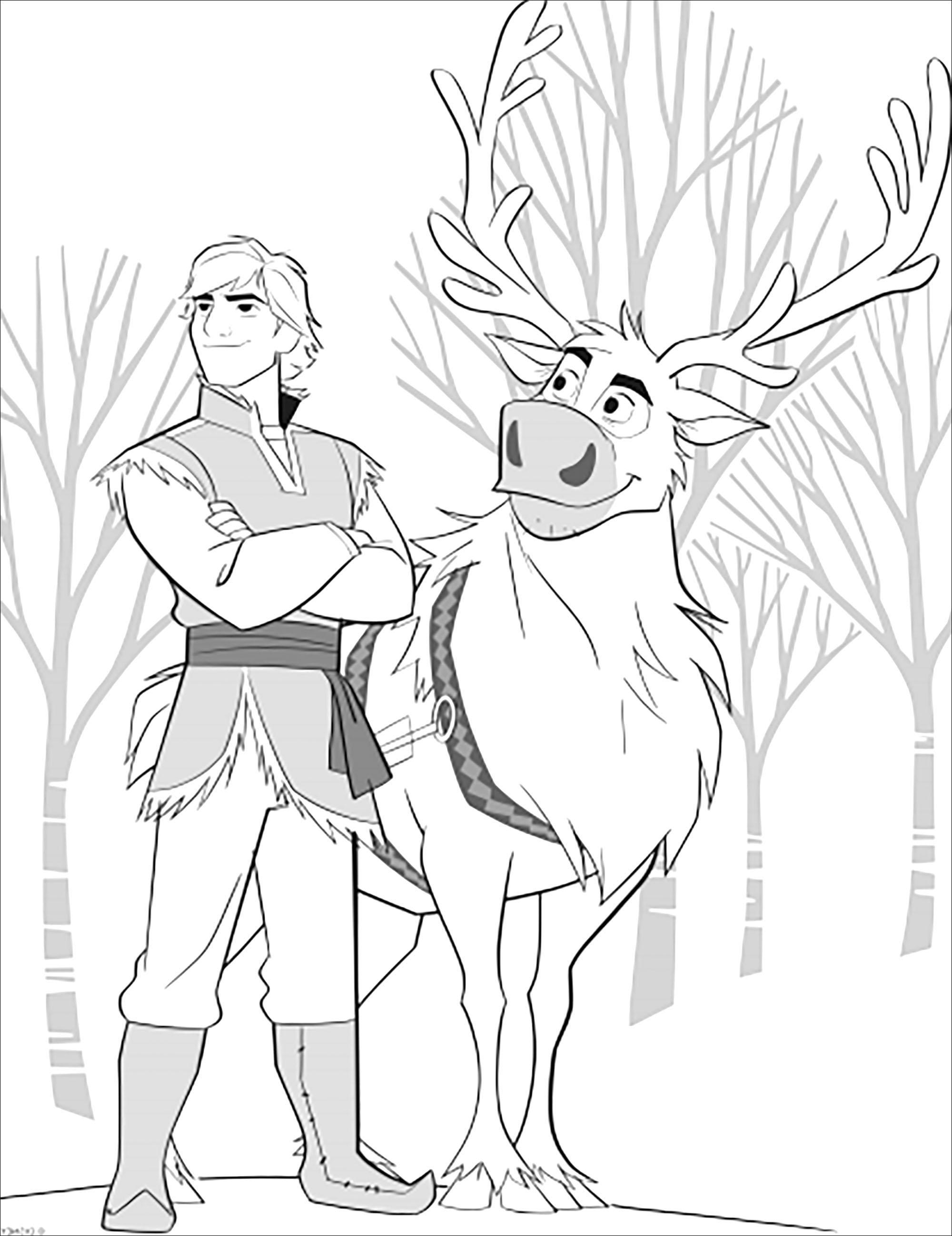 Sven et Kristoff sont de retour dans La reine des neiges 2 de Disney (version sans texte)