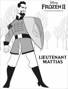 La reine des neiges 2 : Lieutenant Mattias (avec texte)