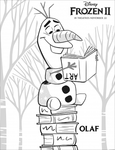 La reine des neiges 2 : Olaf (avec texte)