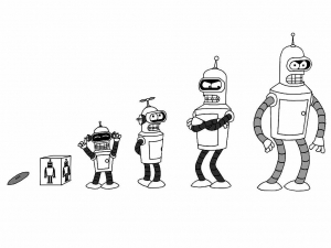 Coloriage futurama 4