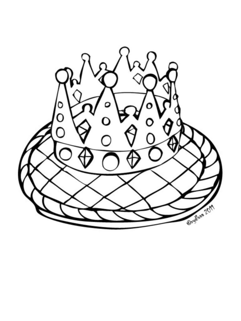 Galette des rois 8 coloriage galette des rois piphanie - Coloriage galette ...