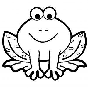 Coloriage Grenouille ‡ Coeurs a Imprimer Gratuit 7349 coloriage grenouille gratuit