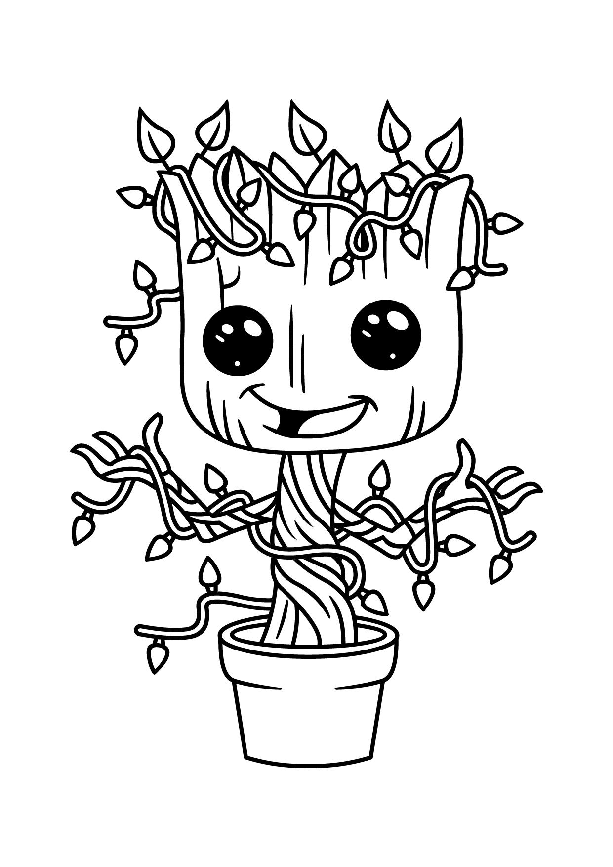 Groot en train de fleurir !