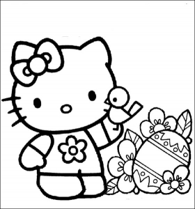 Coloriages Hello Kitty Coloriages Pour Enfants