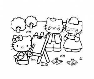 coloriage-hello-kitty-19