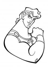 Image de Hercule à imprimer et colorier