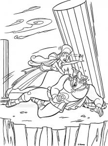 Image de Hercule à télécharger et colorier